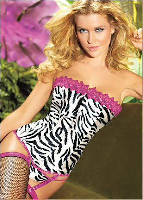 Hollywood Dream Animal Print Corset