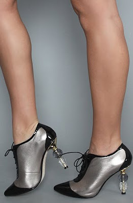 Brownwyn Oxford in Gunmetal Women's Shoes