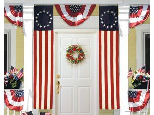 Colonial Pulldown Flag