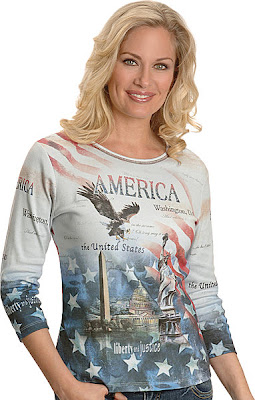 America print tee