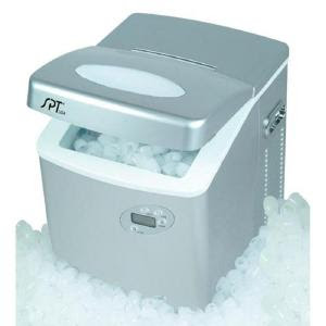 SPT Portable Ice Maker with LCD
