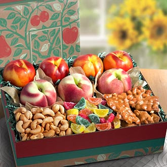 Summer Fruits and Treats Deluxe Gift Box