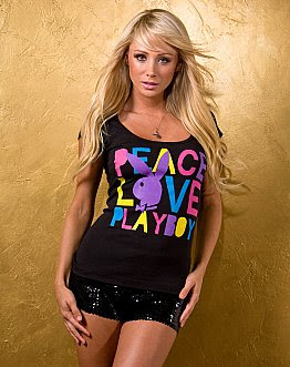 Peace Love and Playboy Tee