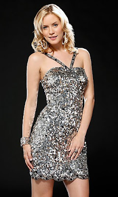 Silver Party Dress by Scala