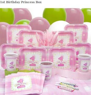 1st Birthday Princess Box