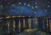 Cielo Estrellado.          van Gogh
