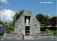 HOLY FAMILY SHRINE AT OUR CHURCH.