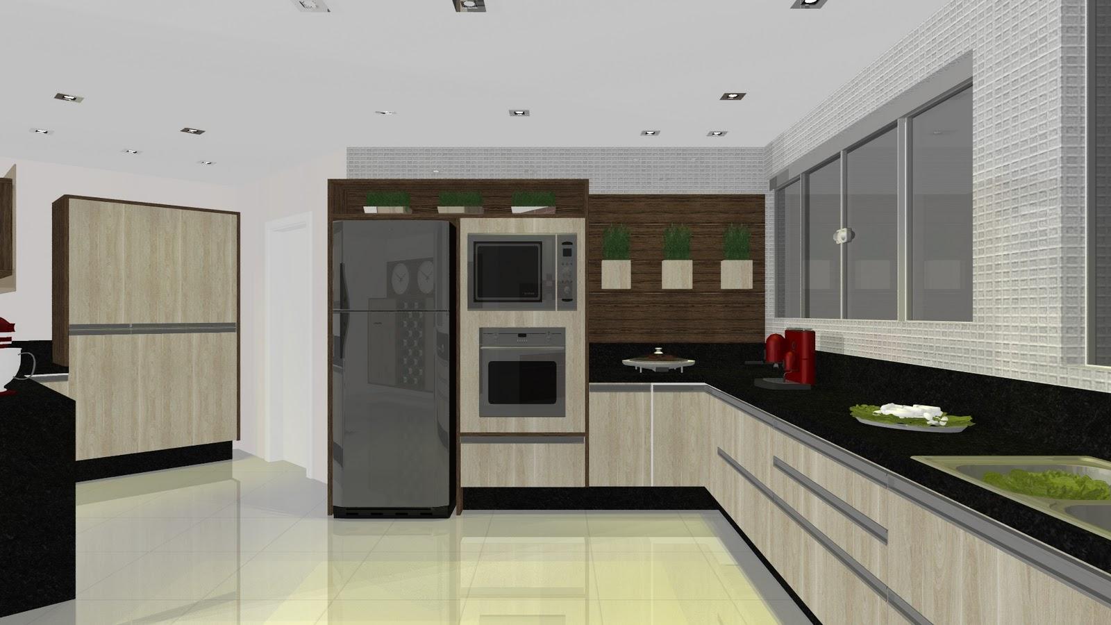 ensaios!!! Charles Chaplin: Projeto BENTEC Cozinha x Sala de Jantar #797752 1600 900