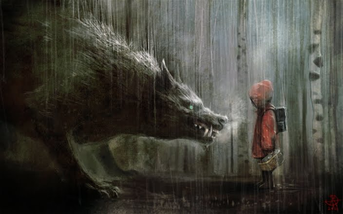 Super Punch Red Riding Hood And A Very Big Bad Wolf link