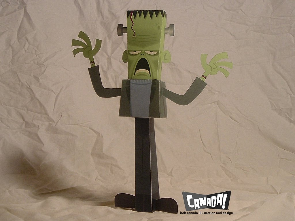 frankenstein paper super punch frankenstein paper toy frankenstein paper toy