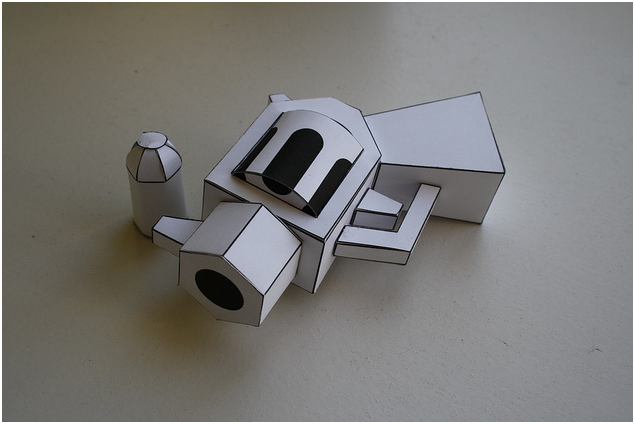 Free All Picture Papercraft Gun