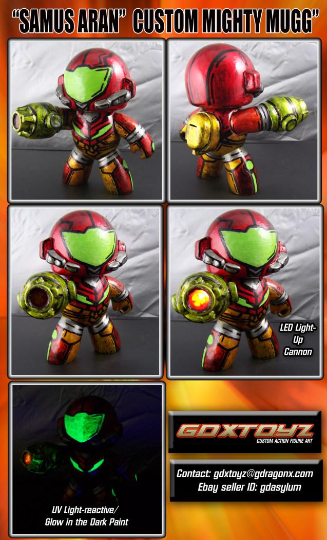 Super Punch Metroid Custom Toys