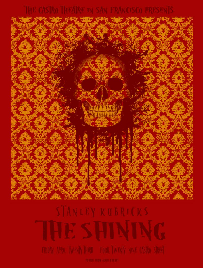 Posters for The Shining   North By Northwest Minimalist Poster