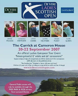 De Vere Ladies Scottish Open Poster -- Click to enlarge