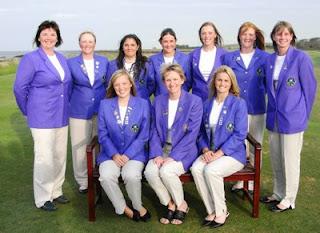 The 2007 Scottish Ladies Golf Team