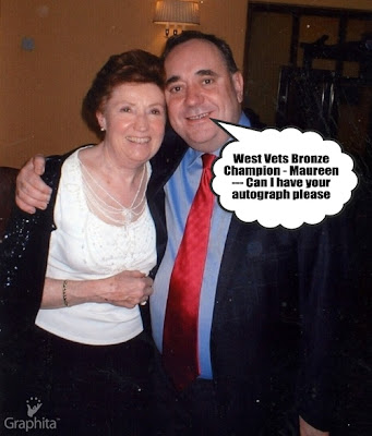 Maureen Rennie and Alex Salmond