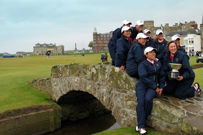 The USA winning 2008 Curtis Cup Team --- Click to enlarge