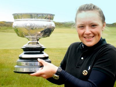Megan Briggs - 2009 Scottish Champion - Click to enlarge