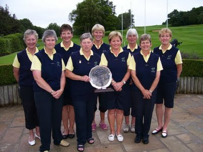 Scottish Vets Winning Team - Click to enlarge