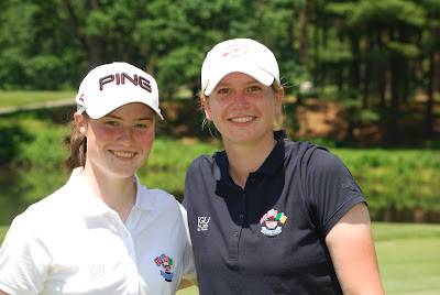 Leona Maguire and Pamela Pretswell - Click to enlarge