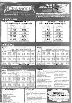 Ango real tabela de preços