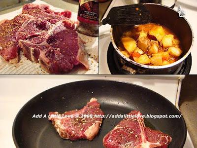 Steak, Montreal Flavor