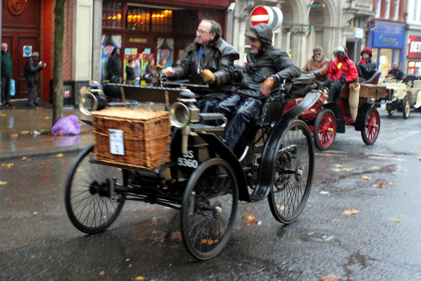 Croydon Confidential: London to Brighton Veteran Car Rally