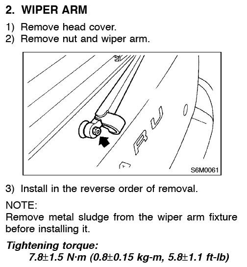 Scooby Drew Subaru Rear Wiper Motor Replacement