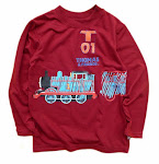 Long sleeved Thomas (size 4yrs).