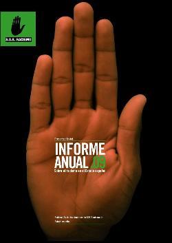 Informe 2009-SOS RACISMO