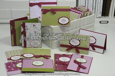Cottage Wall Workshop Cards