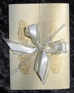 Elegant Gold Invites