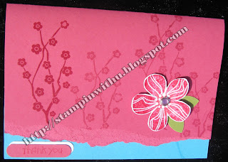 Bright Eastern Blooms Card