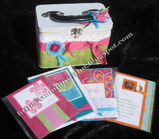 Bali Breeze  20 Cards in a Box Class