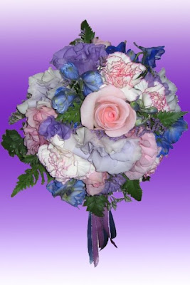 Pastel Coloured Wedding Flowers