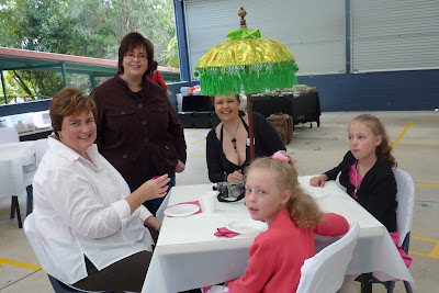 Some Friends at the Arty Farty Morning tea Party