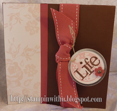 "12x12"" Folded Scrapping Page Card"