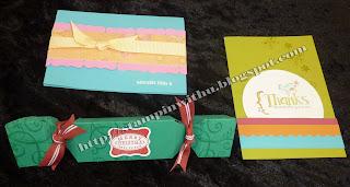 Cards and Bon Bon Cracker