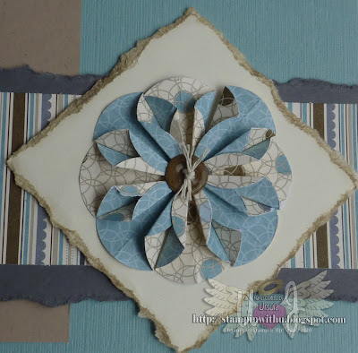 "1-3/8""  Circle Punch Flower Embellishment"