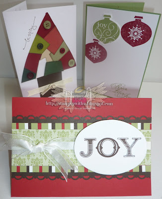Christmas Cards - Scraps, Baubles and Joy