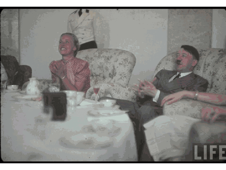 Imagenes de la Alemania Nazi (a color)