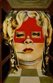 Retrato de Mae West. Dalí