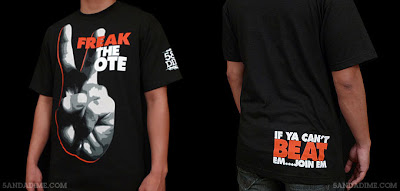 BTW Freak The Vote Makes No Money On Shirts Theyre Making Them As A Way To Get Out Word ABDC And Their Favorite Crew