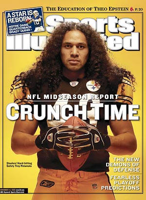 The Kinky Chronicle: Natural Hair Icon: Troy Polamalu