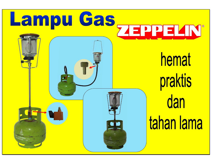 Lampu Gas + Tiang