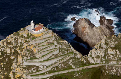 Do Faro Pontevedra Galicia España Islas Cies Spain