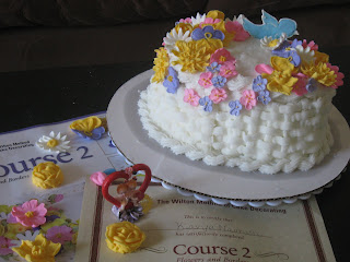 Kavya s Kitchen: Wilton Cake Decoration--Course 2