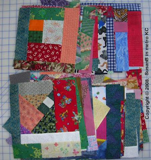 mile-a-minute quilt blocks