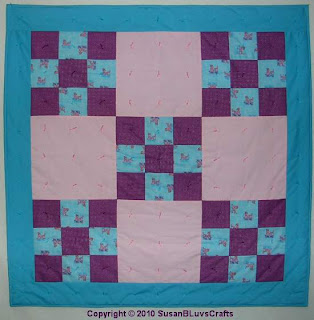 Vickie's 9 Patch Quilt