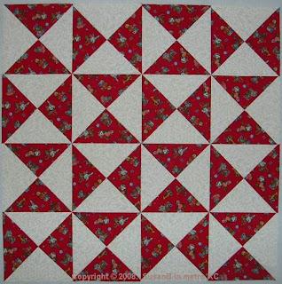 Easy X quilt